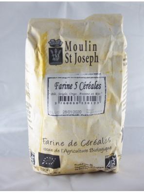 Farine 5 céréales