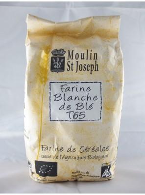 Farine blanche de blé T65